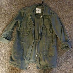 Bb dakota roll sleeve utility jacket